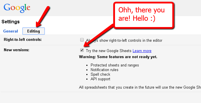 newgooglespreadsheetsactivation
